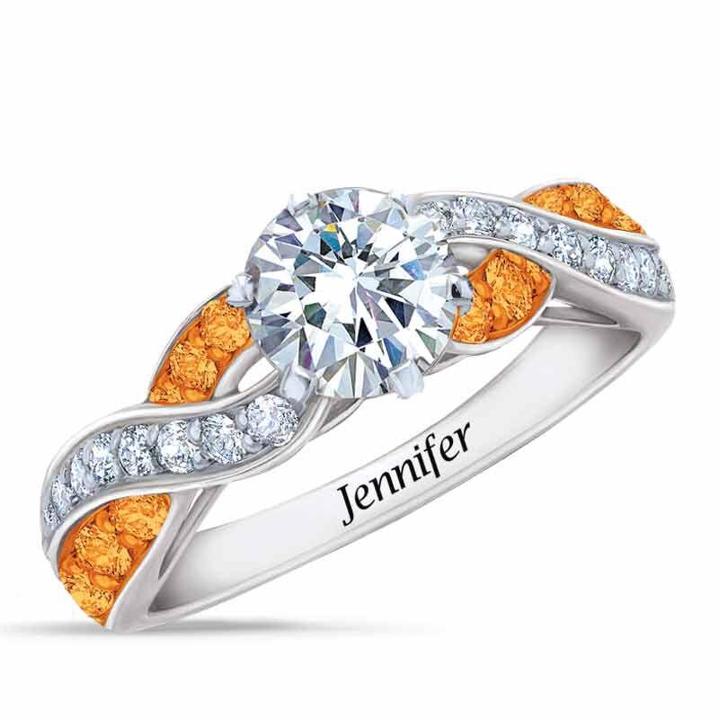 Birthstone Swirl Ring 6366 001 3 11