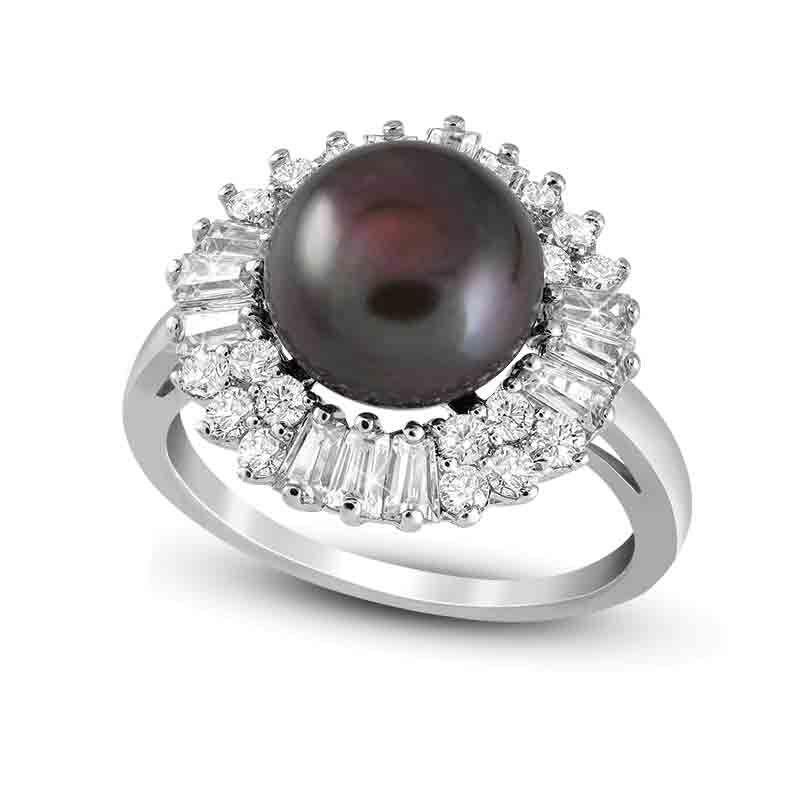 Tahitian Treat Black Pearl Ring 4946 001 7 1