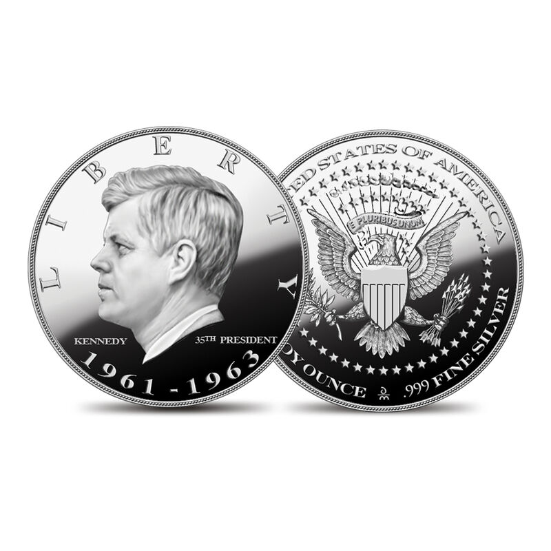 US Presidential Silver Commemoratives 9154 0088 f Kenndycommemorative