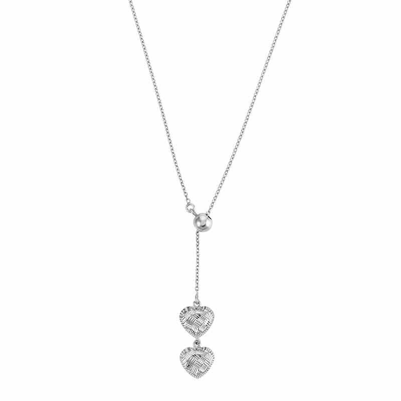 Sensational Silver Pendant  Earring Set 6367 001 2 2