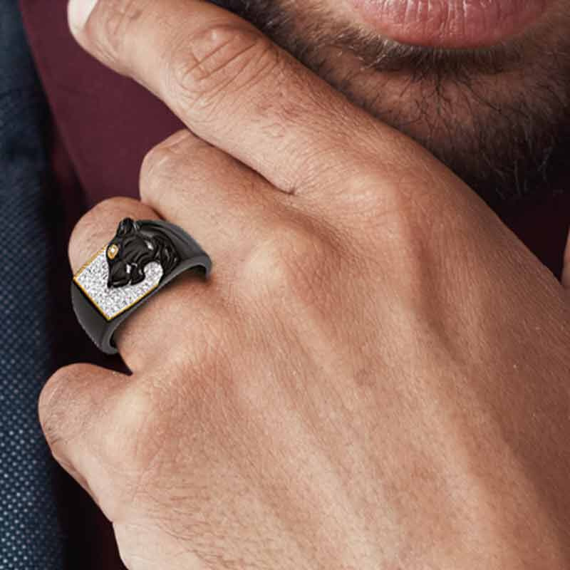 Power of the Panther Mens Ring 6458 001 2 4