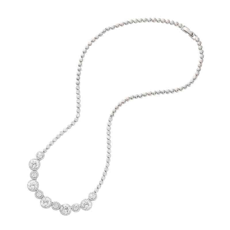Belle of the Ball Diamonisse Necklace 4936 001 9 2