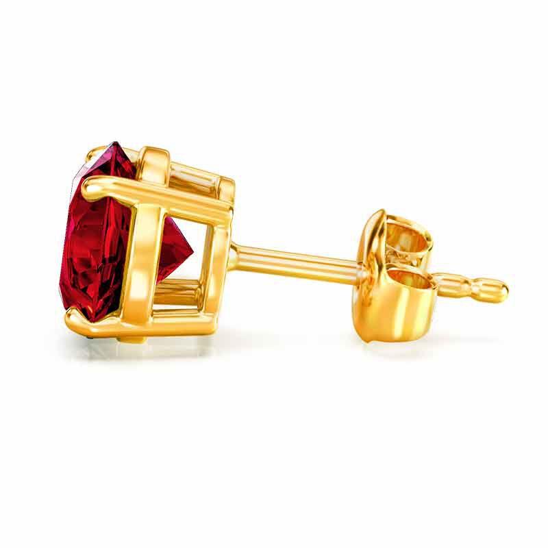 Birthstone Stud Earrings 3359 013 4 13