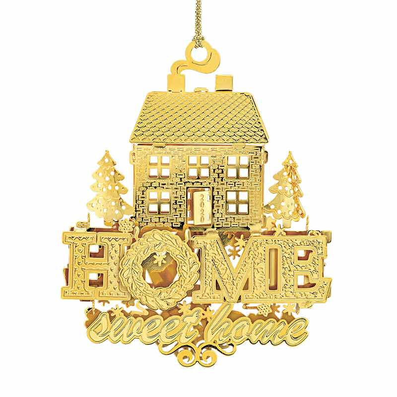 The 2020 Gold Christmas Ornament Collection 2161 006 8 1
