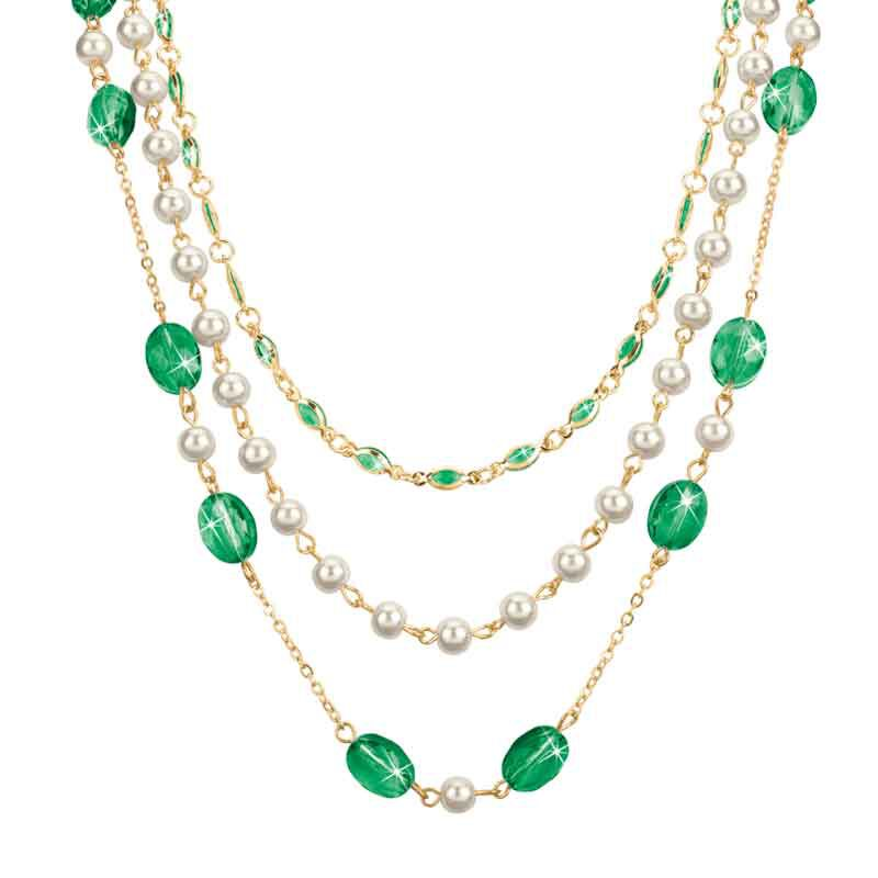 Birthstone Elegance Necklace Set 1478 001 9 5