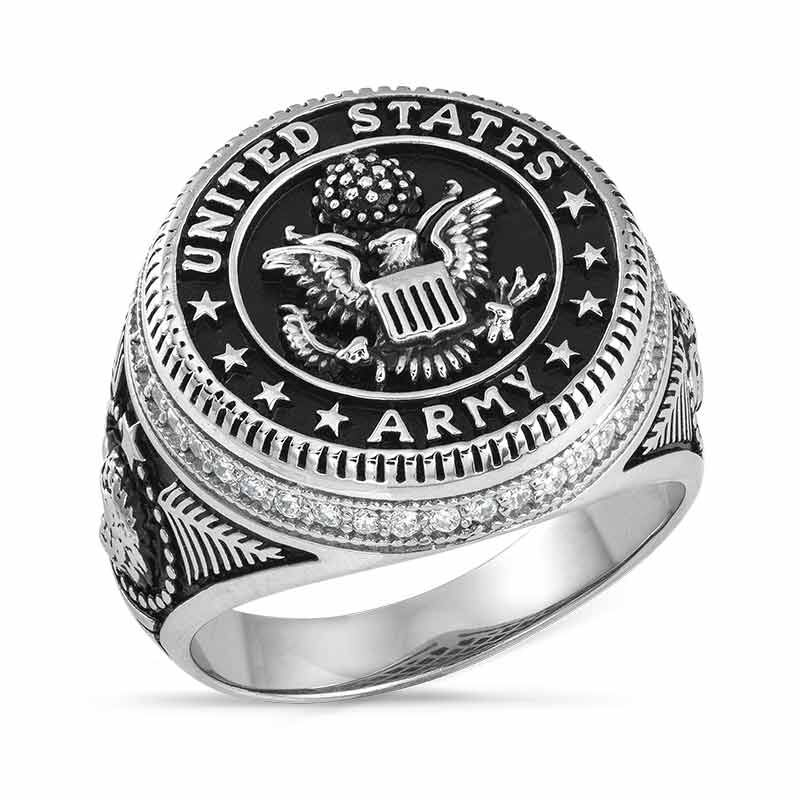 Silver Salute US Army Ring 2541 001 0 1