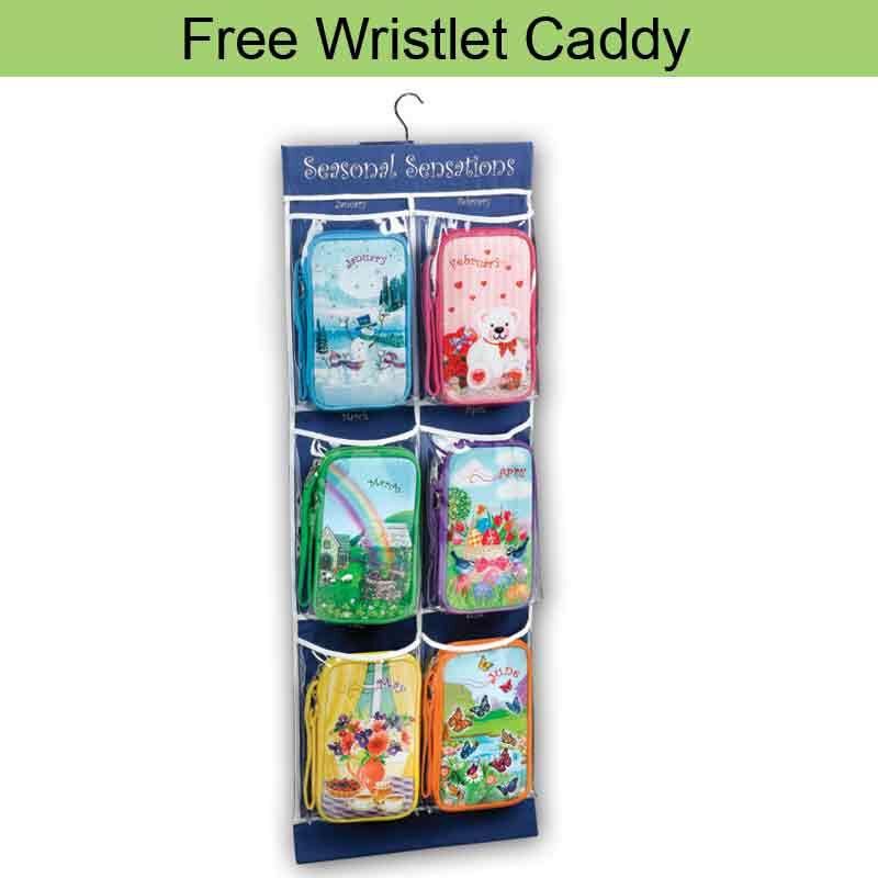 Seasonal Sensations Wristlet  Keychain 5455 002 5 14