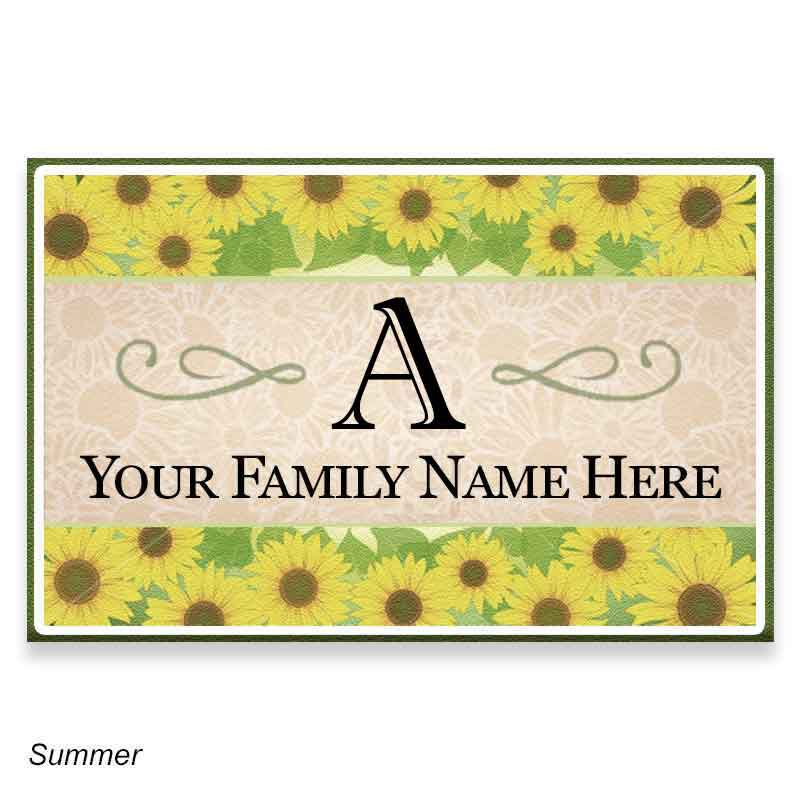 Family Seasonal Welcome Mats 1039 002 9 2