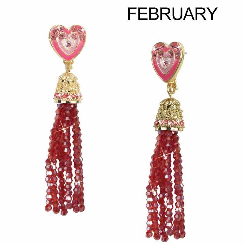 A Year of Cheer Tassel Earrings 1724 001 1 3