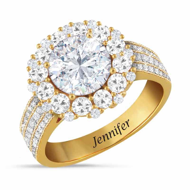 Birthstone Beauty Diamonisse Halo Ring 4924 001 3 4