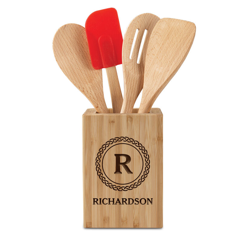 The Personalized Kitchen Utensil Set 10209 0016 a main