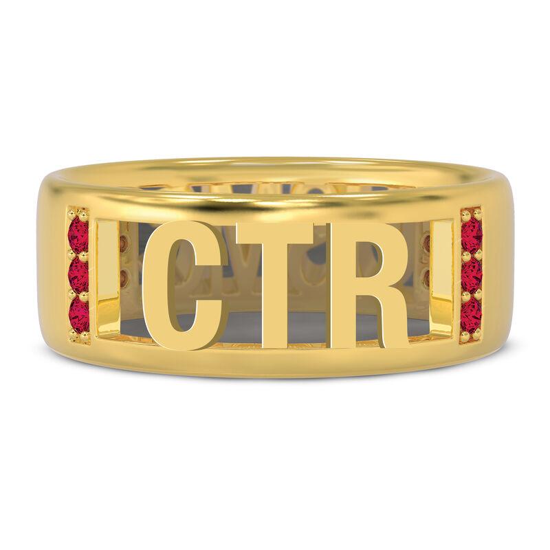 Military Initial Ring 10234 0031 b initial