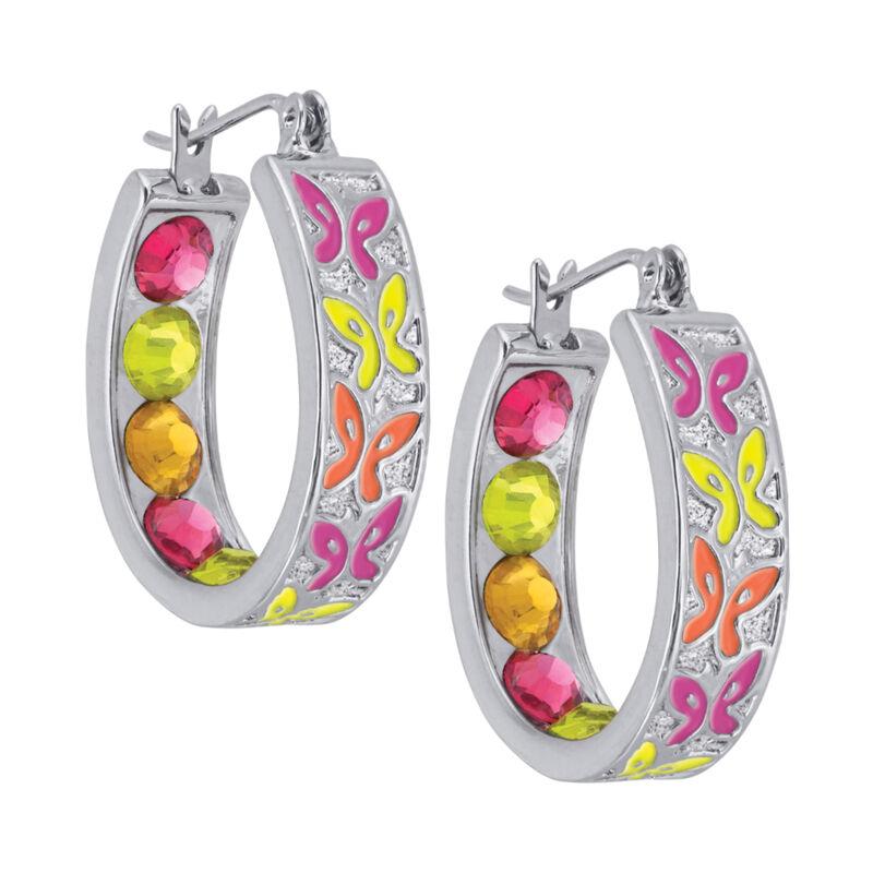 Crystal Celebrations Hoop Earrings 4608 0032 a main