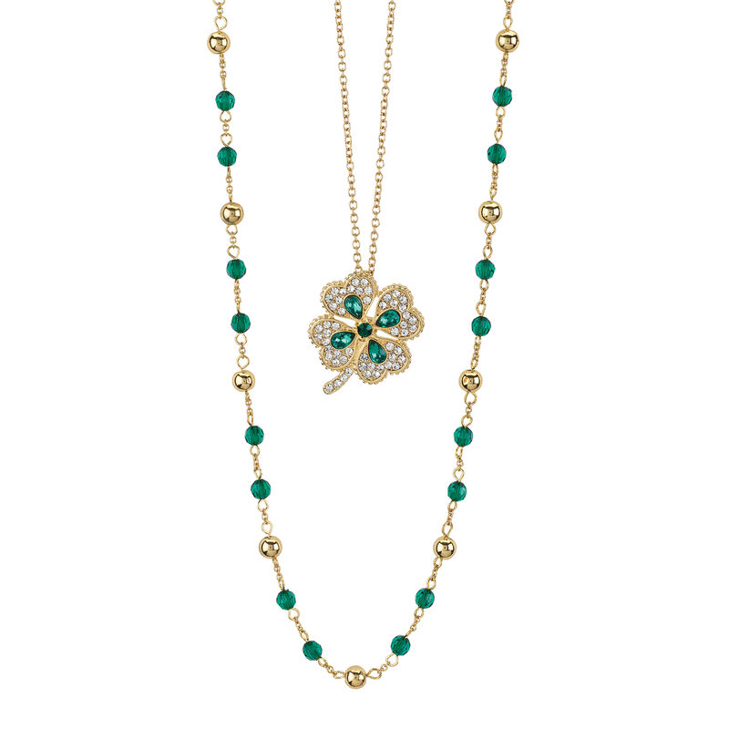 Layers of Sparkle Crystal Necklace Collection 10027 0016 c mar