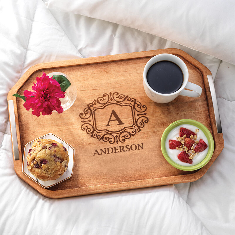 The Personalized Deluxe Serving Tray 5666 001 2 2