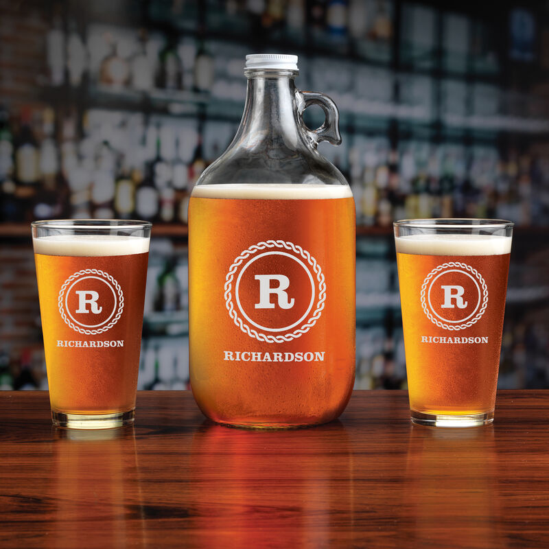 The Personalized Beer Growler Set 5652 0018 a main