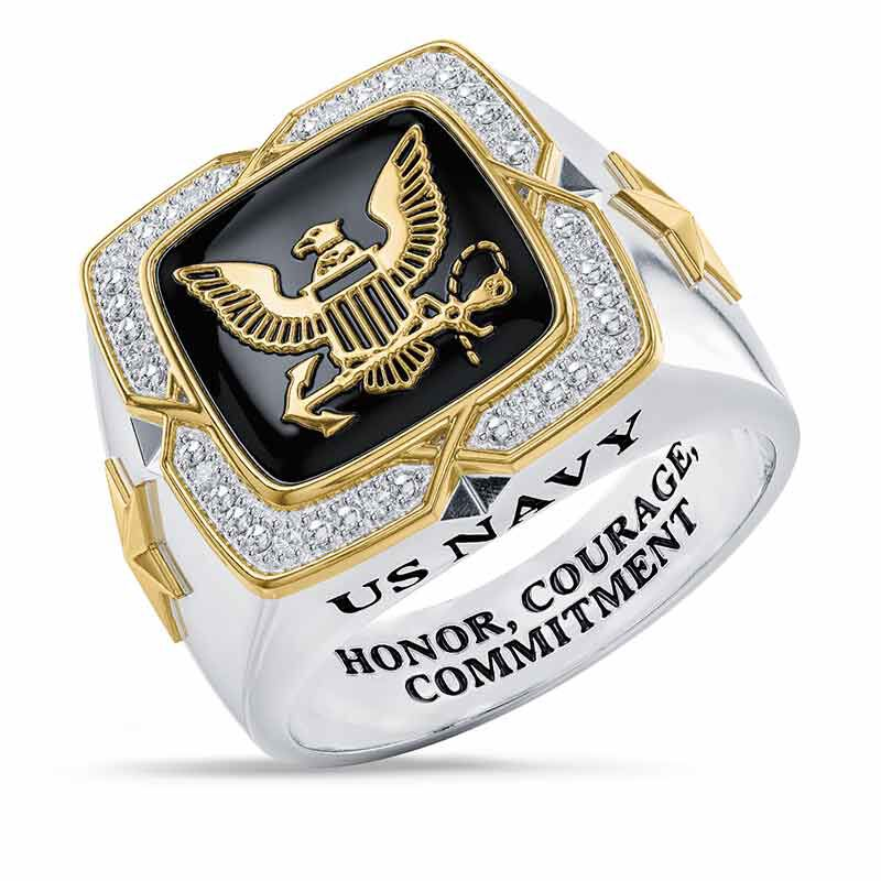 Americas Finest US Navy Ring 6665 002 9 1