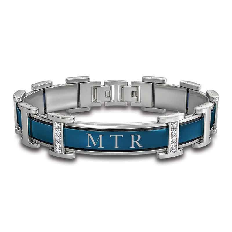 Titanium Strength Personalized Son Bracelet 6202 001 1 1
