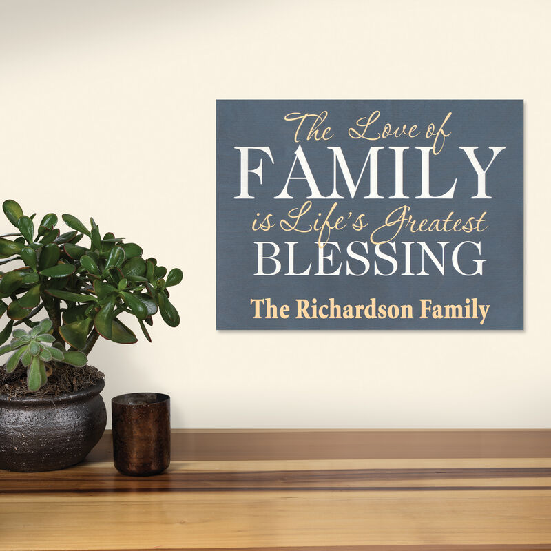 The Personalized Blessing Wood Sign 5694 001 8 2
