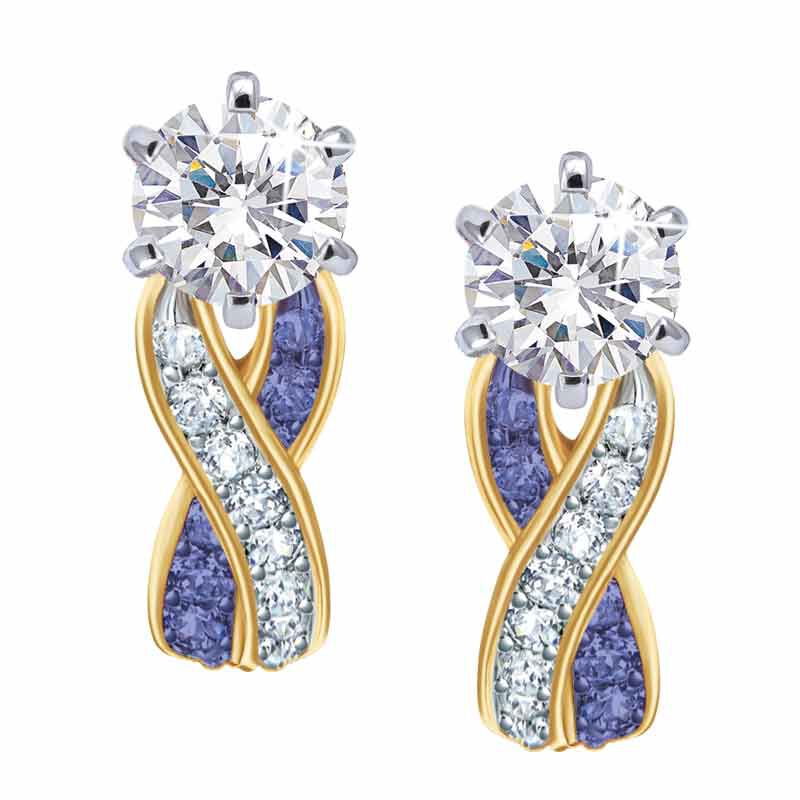 Birthstone Swirl Earrings 5361 014 3 2