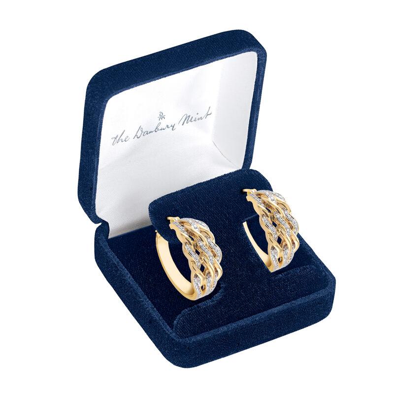Diamond Swirl Earrings 6500 0028 g gift display