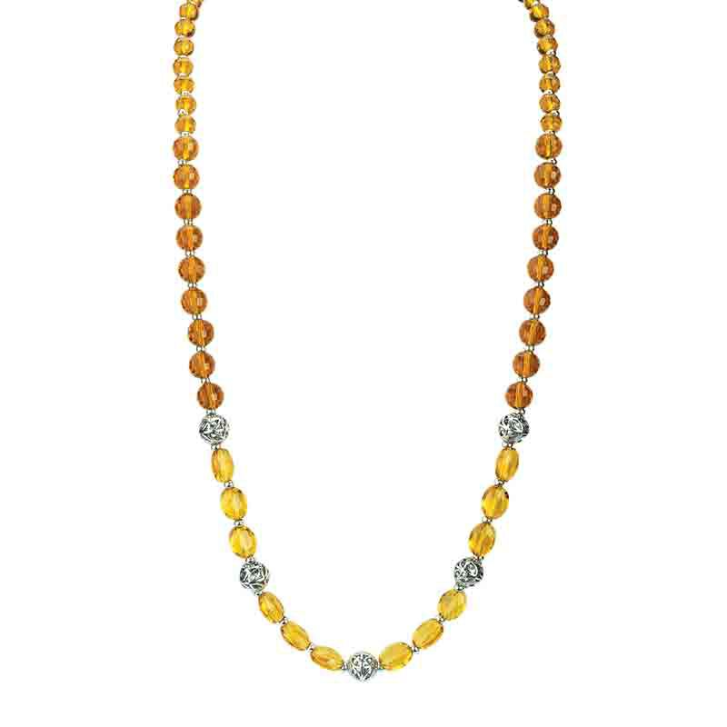 Four Seasons Crystal Necklace Set 1754 001 4 5