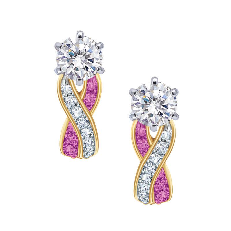 Birthstone Swirl Earrings 6503 0033 j october