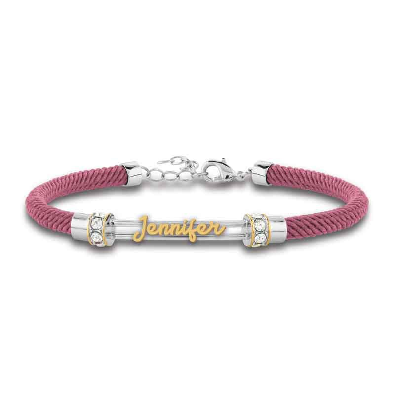 Personalized Birthstone Rope Bracelet 4947 005 7 8