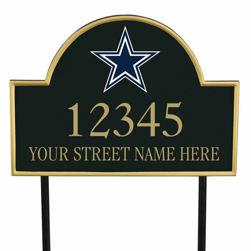 The NFL Personalized Address Plaque 5463 0355 l cowboys