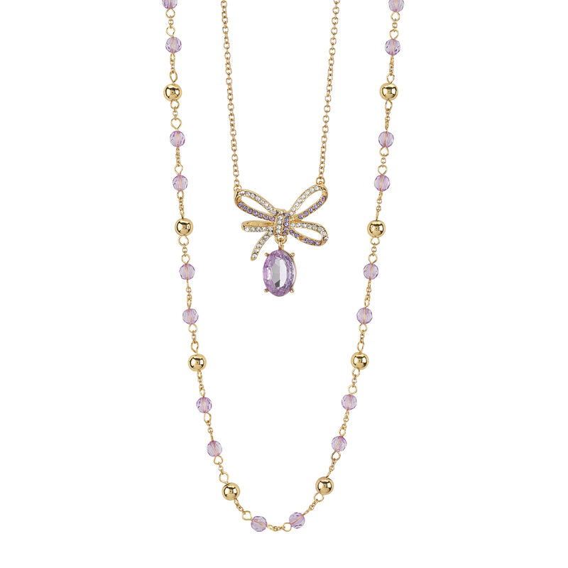 Layers of Sparkle Crystal Necklace Collection 10027 0016 d apr