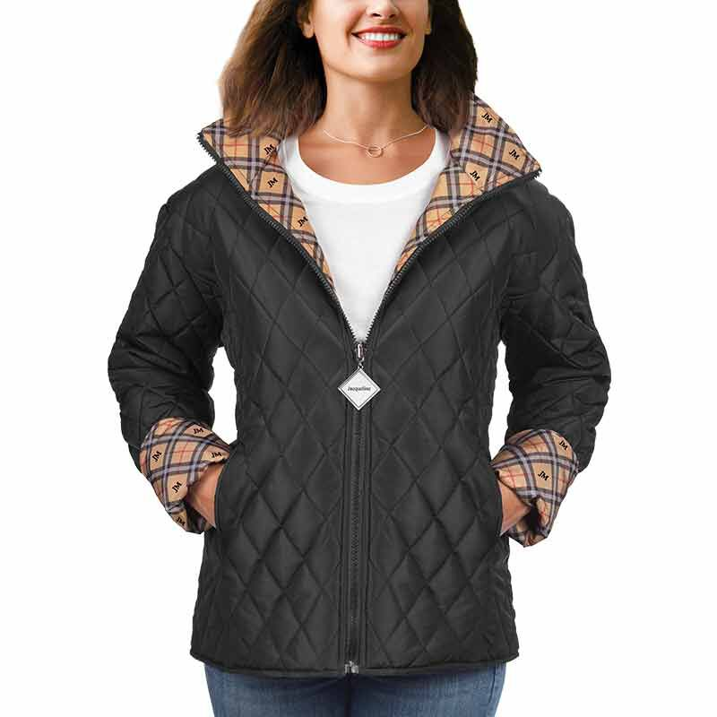 The Personalized Quilted Plaid Jacket 6089 002 7 3