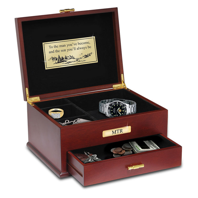 The Personalized Son Valet Box 2569 004 1 1