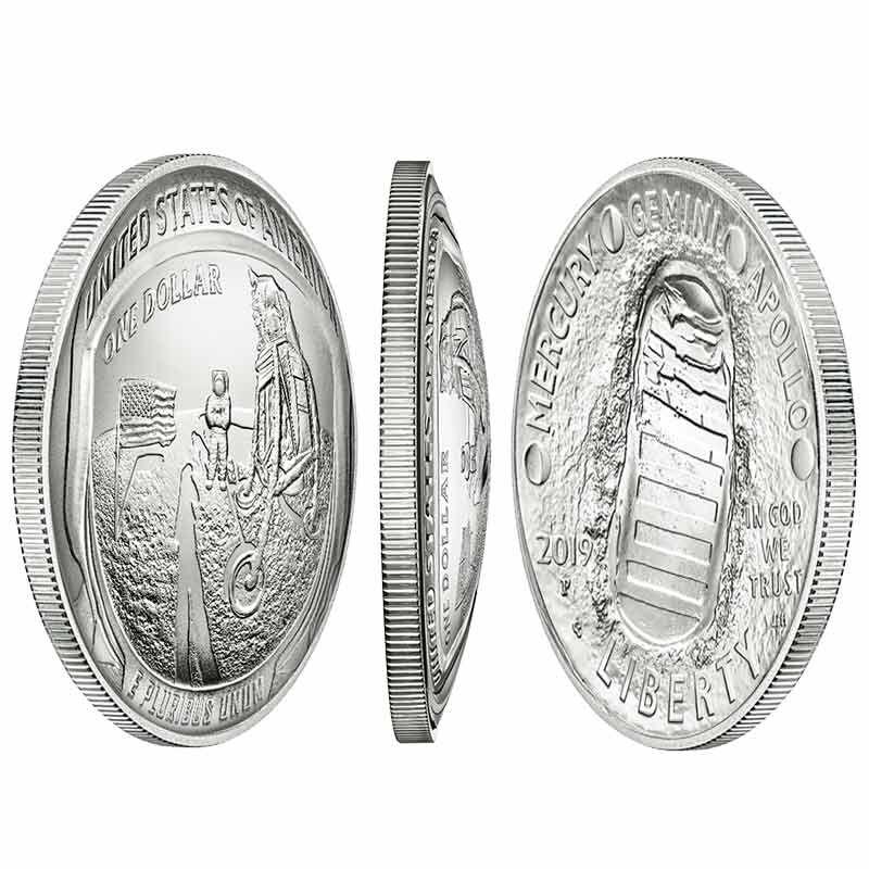 The Apollo 11 50th Anniversary Silver Dollar 2667 001 8 1