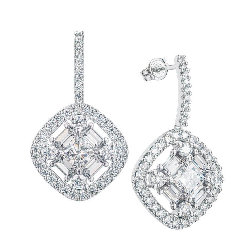 Refined Elegance Sterling Silver Set 6735 0017 c earrings