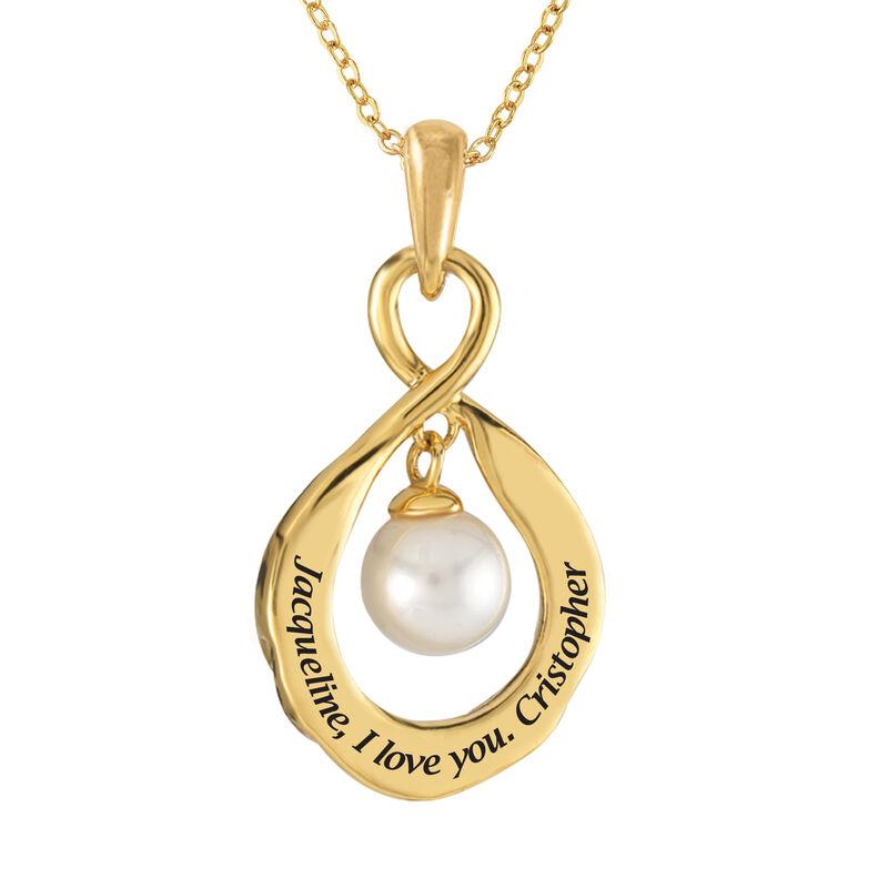 The Pearl Birthstone Pendant 6901 0015 c back