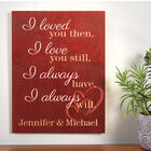 The Personalized Couples Sign 10037 0014 m room
