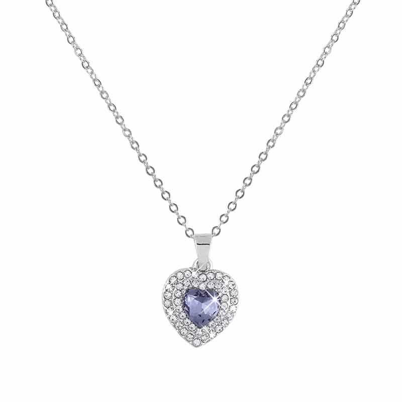 Treasures of the Heart Pendant  Jewelry Box Set 2169 001 1 4