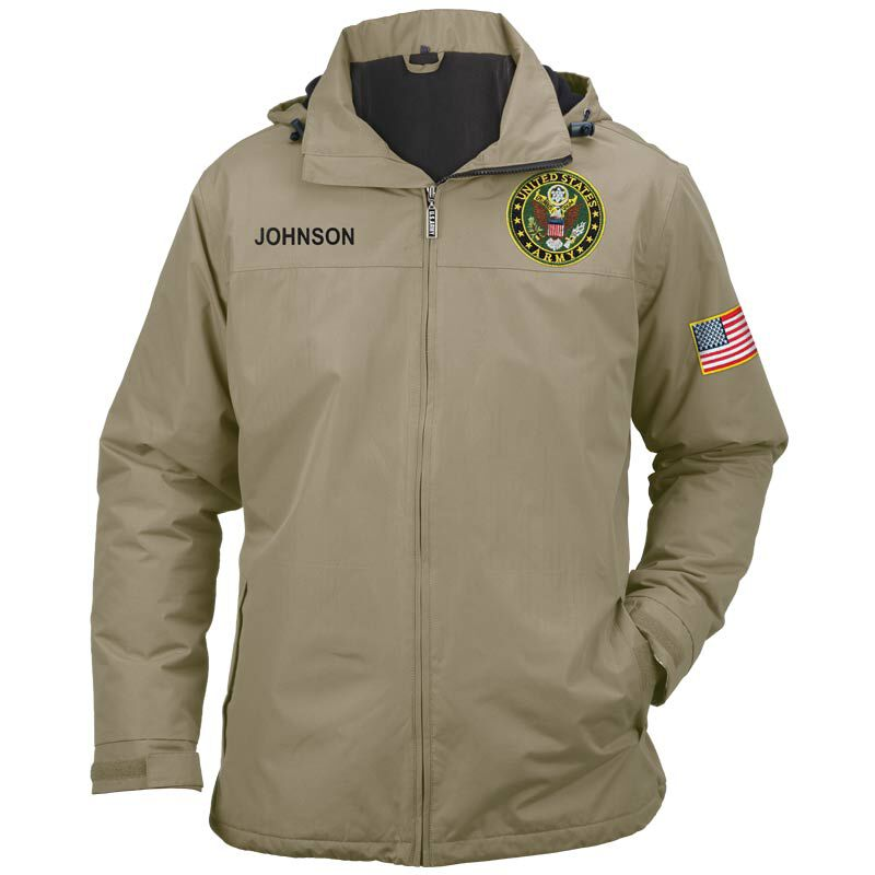 Personalized US Army All Weather Jacket 5632 001 3 4
