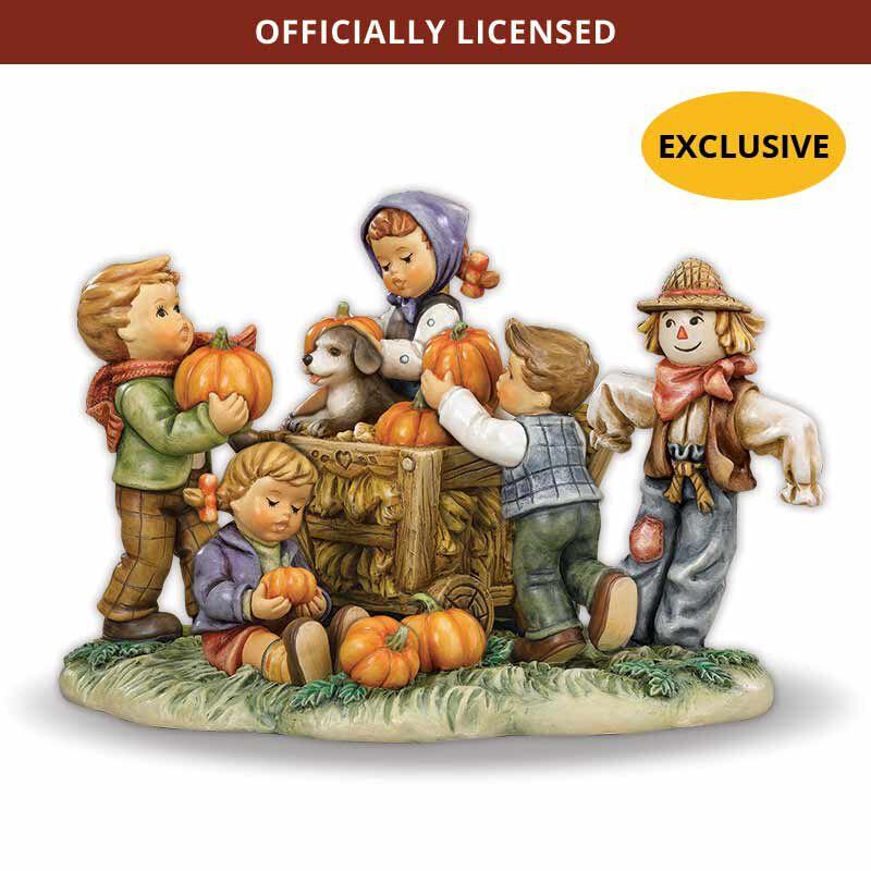MI Hummel Figurine  Happy Harvest 5264 001 8 1