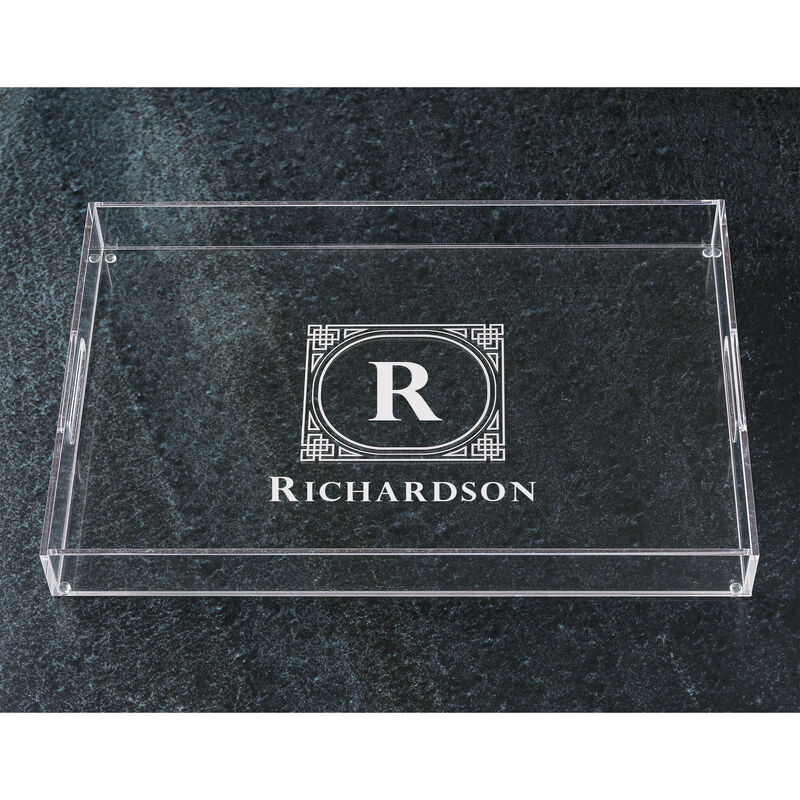 The Personalized Deluxe Acrylic Tray 5688 001 6 1