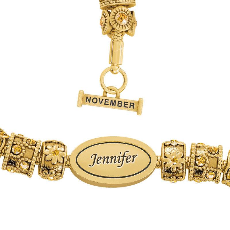 Beauty Personalized Charm Bracelet 2406 001 4 11