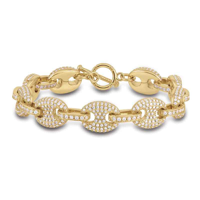 Sparkle of the Sea Mariners Link Bracelet 6317 001 3 1