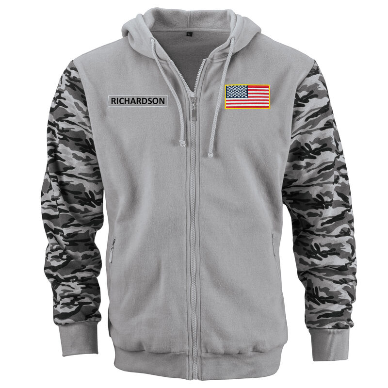 Personalized US Army Hoodie 10117 0017 a main
