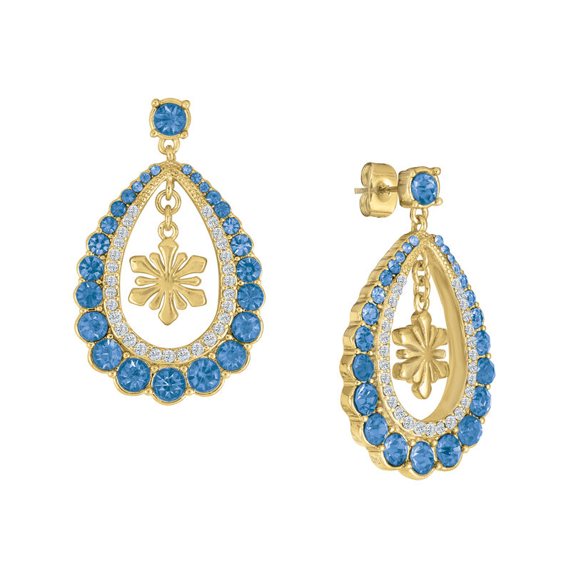Monthly Crystal Earrings 6881 0019 a main