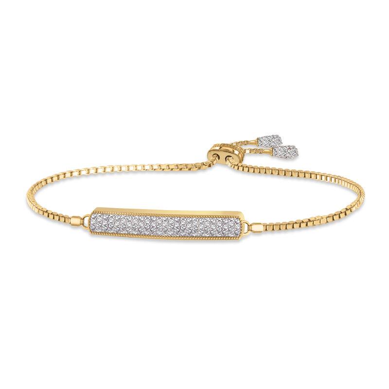 Birthstone Bolo Bracelet 6501 0027 d april