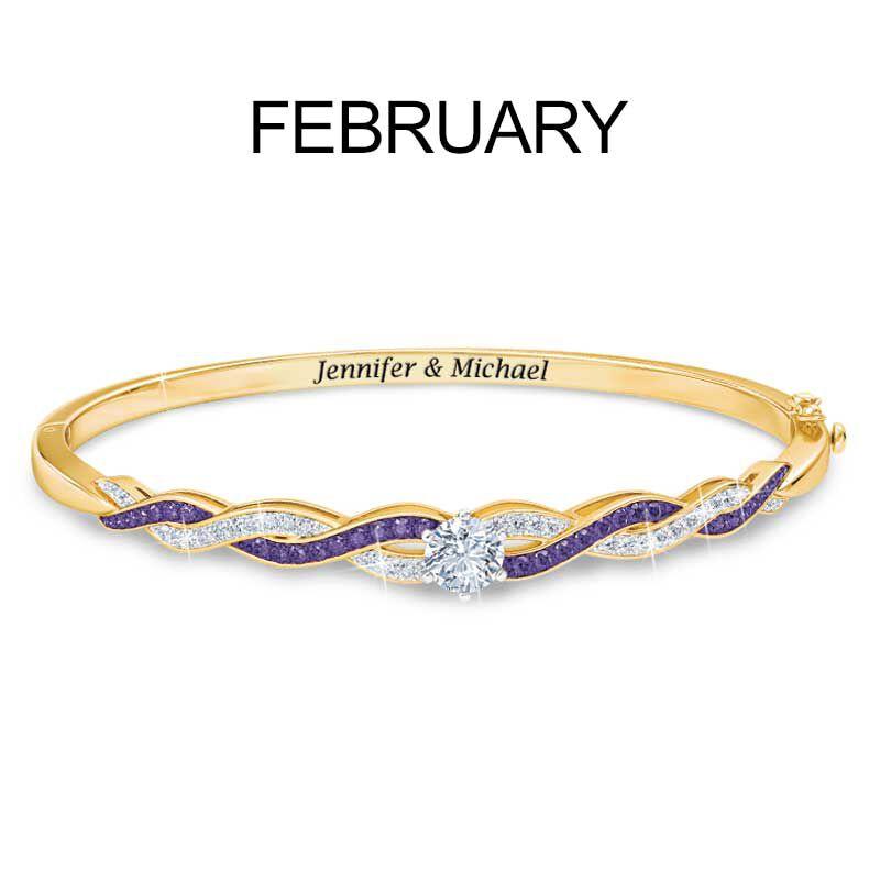 Birthstone Swirl Bracelet 5821 002 2 3