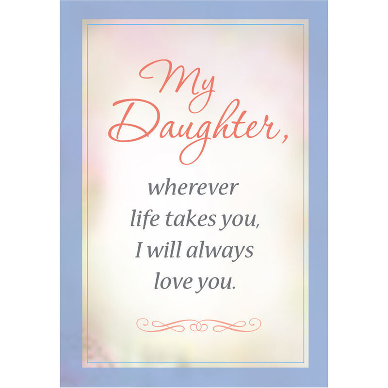 I Will Always Love You Layered Daughter Rose Necklace with card 6770 001 3 4