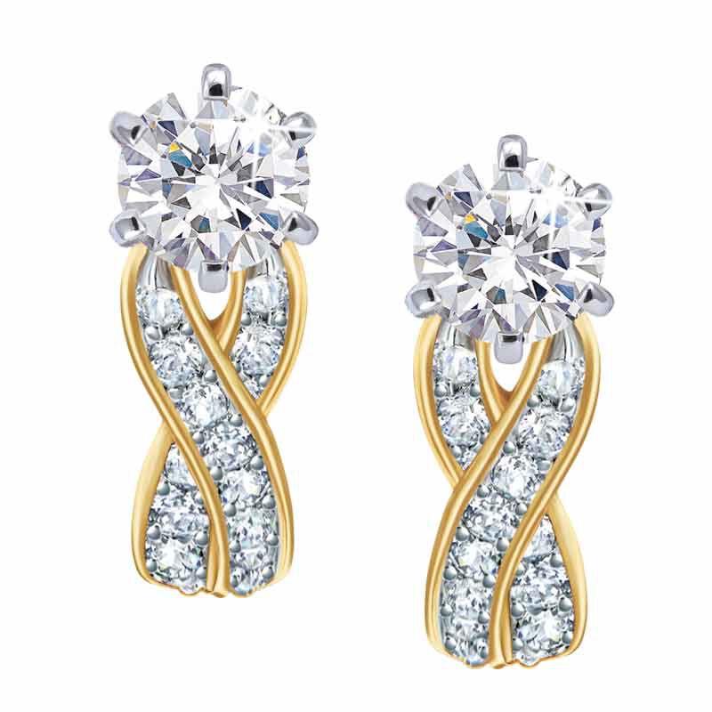 Birthstone Swirl Earrings 5361 014 3 4