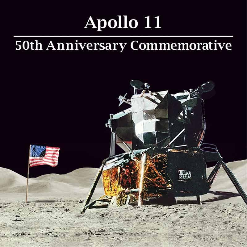 The Apollo 11 50th Anniversary Silver Dollar 2667 001 8 4