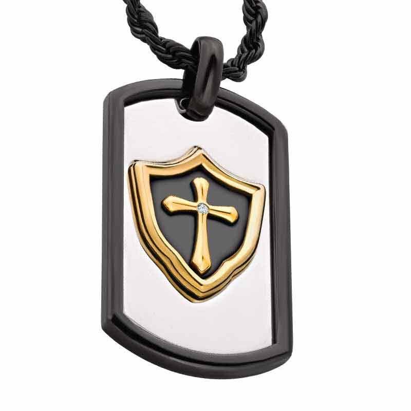 Grandson Shield Pendant 2264 001 5 1